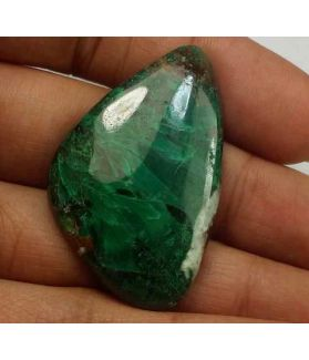 62.82 Carats Chrysocolla 39.35 x 24.95 x 6.16 mm