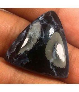 17.01 Carat Blue Africa Pietersite 22.90 x 21.61 x 4.80 mm