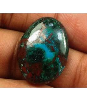 15.98 Carats Chrysocolla 21.99 x 16.00 x 4.72 mm