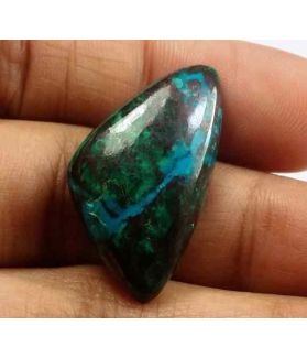 19.25 Carats Chrysocolla 26.99 x 15.14 x 5.32 mm