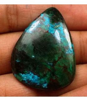 38.81 Carats Chrysocolla 34.40 x 26.61 x 4.61 mm