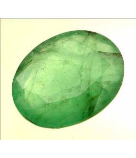 4.89 Carat Colombian Emerald 13.25x10.55x4.94mm