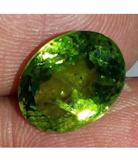 6.11 Carat Green Peridot 12.21x9.20x7.17mm