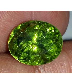 4.97 Carat Green Peridot 10.61x8.82x7.82mm