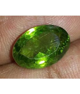 7.11 Carat Green Peridot 13.30x9.21x6.90mm