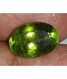 5.86 Carats Green Peridot 12.27x8.60x7.18mm
