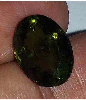 6.61 Carats Green Peridot 13.45x9.70x6.45mm