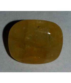 4.99 Carats Yellow Sapphire 10.75x8.87x5.10mm