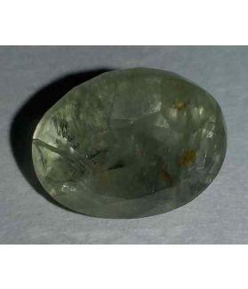 7.12 Carats Light Green Sapphire 11.30x9.15x7.65mm