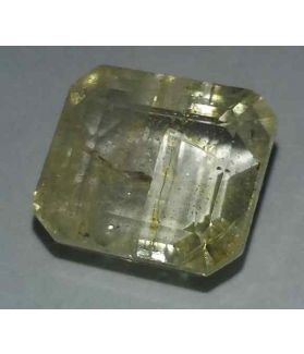 11.35 Carats Yellow Topaz 12.14x10.86x7.34mm