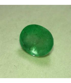 4.11 Carats Colombian Emerald 10.80 x 8.80 x 6.43 mm