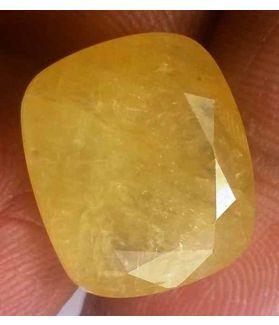 11.61 Carats Ceylon Yellow Sapphire 15.45 x 13.18 x 5.18 mm