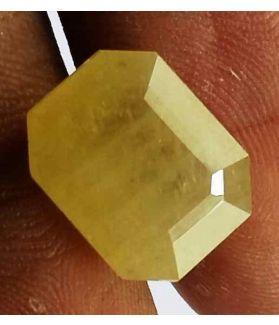 8.07 Carats Ceylon Yellow Sapphire 12.58 x 10.16 x 6.27 mm