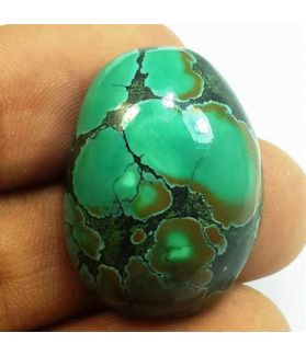 34.26 Carats Turquoise 27.19 x 19.84 x 9.13 mm