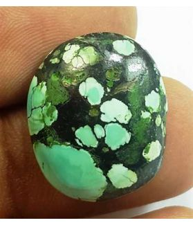 12.57 Carats Turquoise 18.98 x 15.82 x 6.29 mm