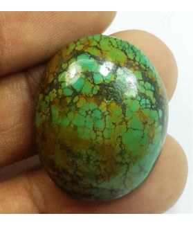 30.60 Carats Turquoise 27.01 x 21.93 x 7.44 mm