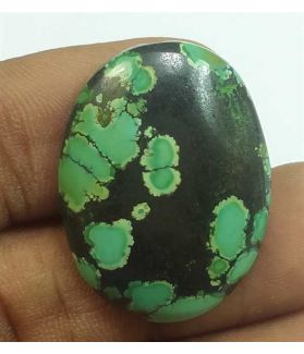 22.93 Carats Turquoise 27.81 x 21.05 x 5.49 mm