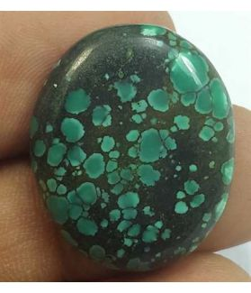 18.19 Carats Turquoise 24.48 x 20.28 x 4.55 mm