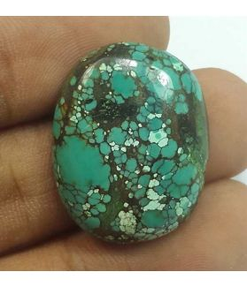 20.46 Carats Turquoise 24.94 x 19.74 x 5.71 mm