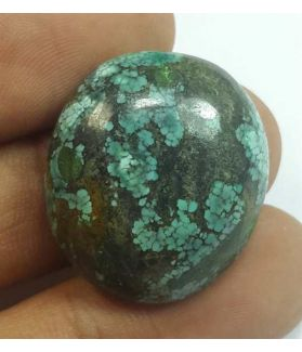29.52 Carats Turquoise 24.97 x 22.31 x 7.46 mm