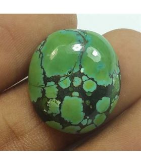 14.88 Carats Turquoise 19.85 x 17.87 x 6.15 mm