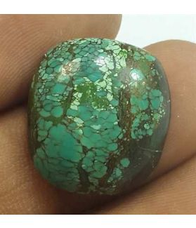 13.60 Carats Turquoise 18.07 x 16.65 x 6.00 mm