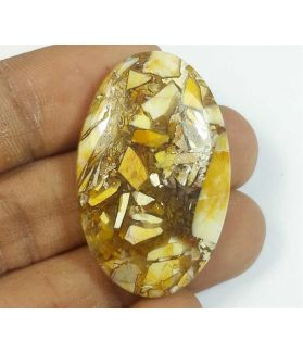 42.89 Carats Mookaite Barritted 37.47 x 23.79 x 6.40 mm