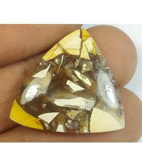 16.38 Carats Mookaite Barritted 22.25 x 22.75 x 4.84 mm