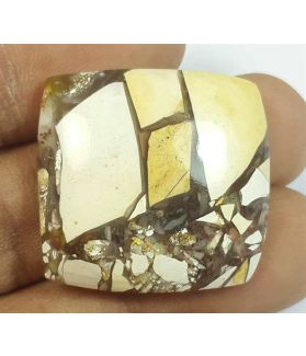 39.17 Carats Mookaite Barritted 26.90 x 26.90 x 7.24 mm