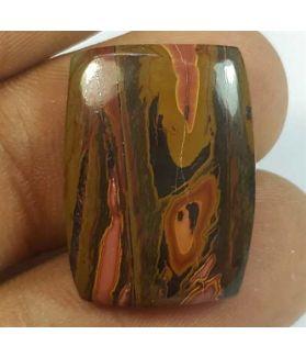 15.37 Carats Cherry Creek Jasper 21.67 x 15.79 x 4.42mm