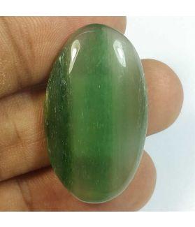 31.51 Carats Nephrite Jade 33.90 x 19.58 x 6.01 mm