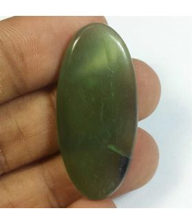 26.37 Carats Nephrite Jade 39.23 x 18.25 x 4.26 mm