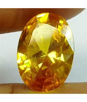 6.59 Carats Yellow Quartz 13.78x9.44x5.76 mm