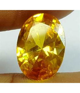6.73 Carats Yellow Quartz 13.89x9.44x5.80 mm