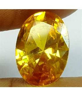 6.49 Carats Yellow Quartz 13.89x9.59x5.47 mm