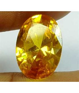 6.59 Carats Yellow Quartz 13.98x10.05x5.80 mm