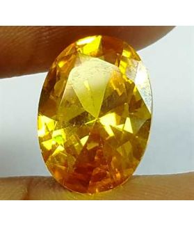6.30 Carats Yellow Quartz 13.97x9.44x5.43 mm