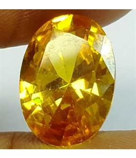 6.36 Carats Yellow Quartz 13.89x9.40x5.40 mm
