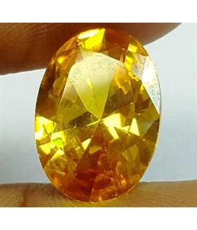 6.50 Carats Yellow Quartz 13.76x9.40x5.41 mm