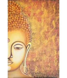 The Elegant Bold Buddha in Meditation 24 x 36 Inch
