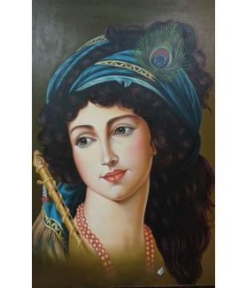 Krishna 36 x 48 Inch