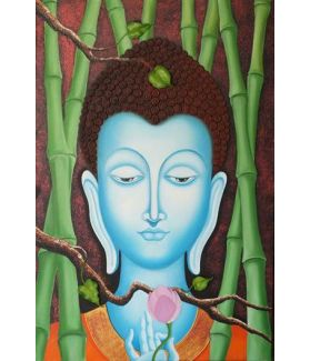 The Immortal Buddha 24 x 36 Inch