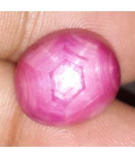 15.59 Cts Star Ruby Johnson Mine 15.32 x 12.23 x 7.69 mm