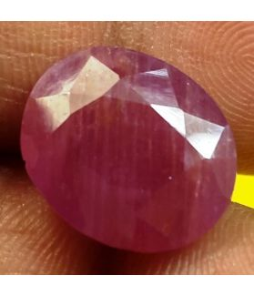 10.07 Carats Guinea Mines Ruby 13.94 x 11.42 x 6.39 mm
