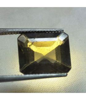 6.60 Carats Green Sapphire  10.93 x 9.14 x 5.87 mm