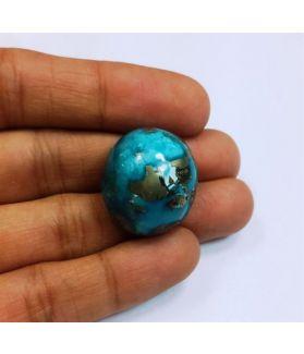 49.58 Carats Irani Natural Turquoise 22.71 x 19.55 x 14.24 mm