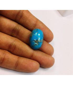 20.25 Carats Irani Natural Turquoise 20.30 x 13.17 x 9.51 mm