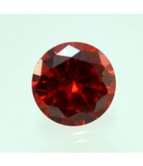 4 Carats Natural Red Cubic Zircon