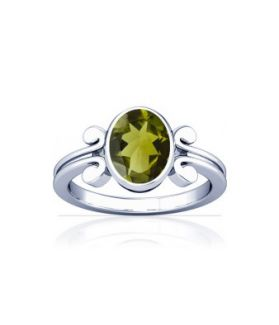 Peridot Sterling Silver Ring - K10