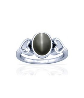 Natural Cats Eye Sterling Silver Ring - K12